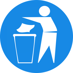 image of recycling sign