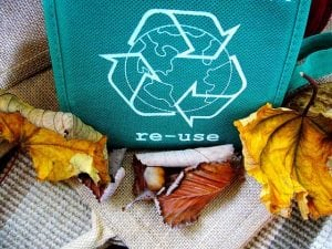 image of a smaller recycling bin