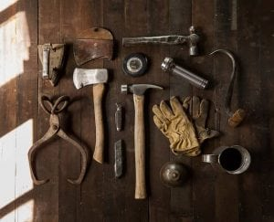 image of handymen tools