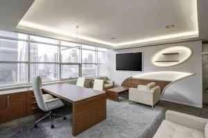 image of a office in London