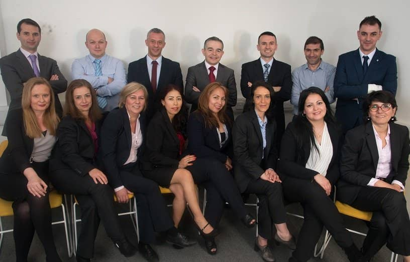 image of the whole team at regional services