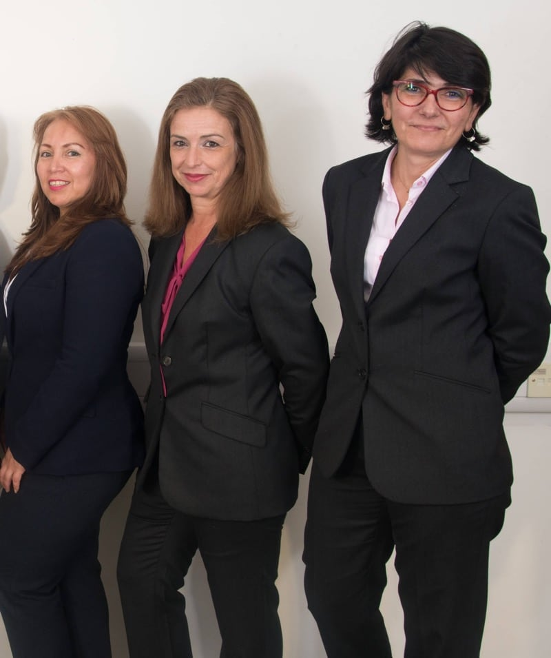 image of the ladies of regional services team