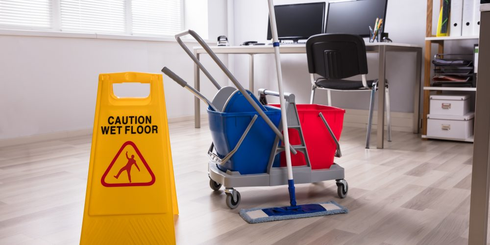 commercial contract office cleaning services
