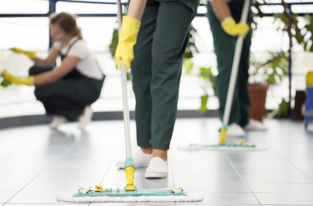 How to Clean Bathroom, Kitchen and Entryway Floor Grout