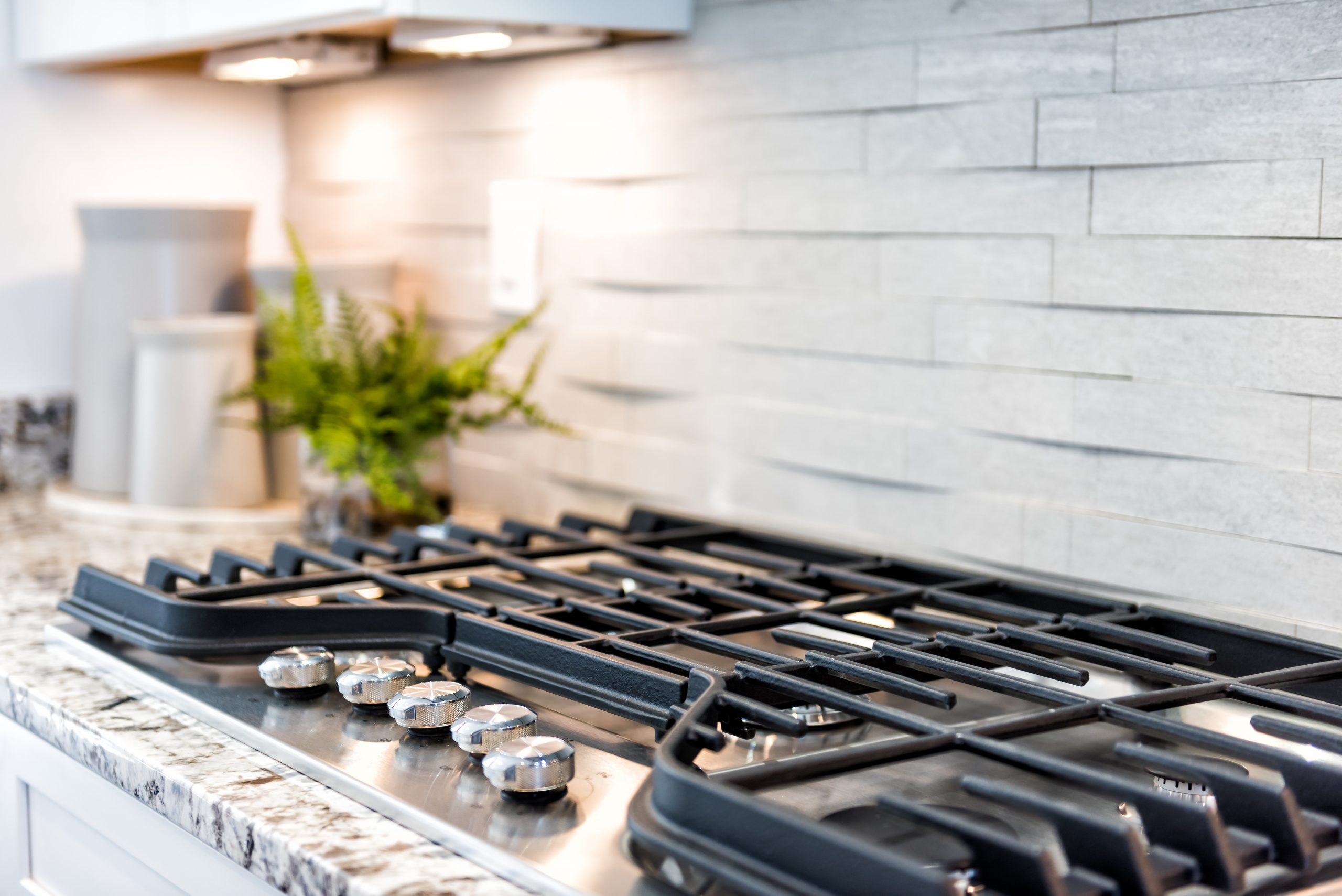 How to Check for Gas Leaks In and Around a Gas Cooktop Stove