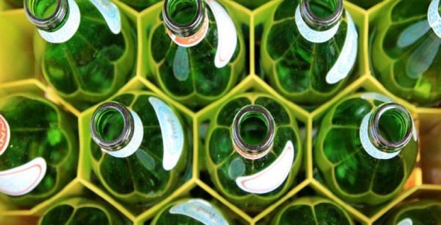 Bottles Green Glass