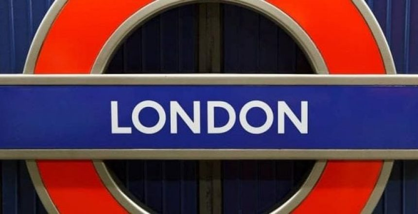 image of London train sign, London Office Locations