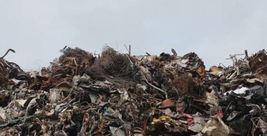 image of a trash pile, Manage Waste and Recycling