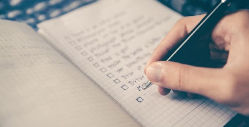 spring cleaning checklist 2021