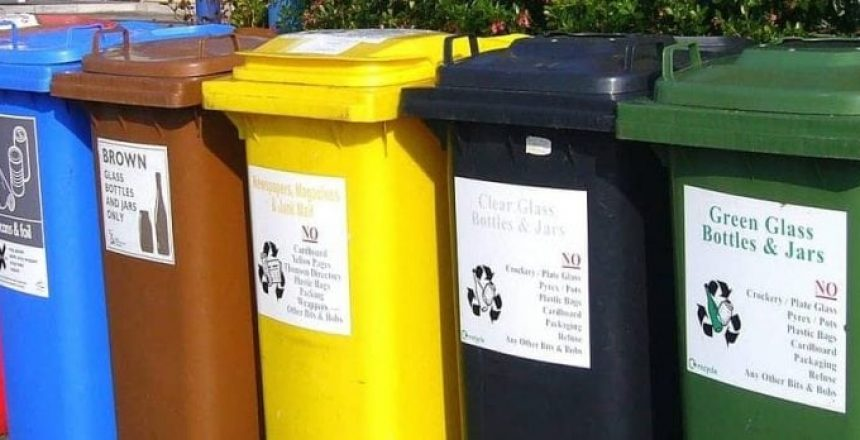 image of recycling bins, Improving your Recycling